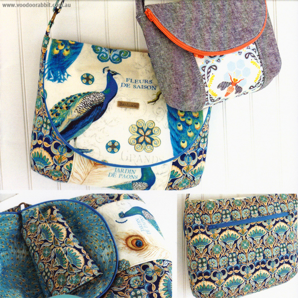 Emmaline Bags The Manhattan Bag Sewing Pattern Voodoo