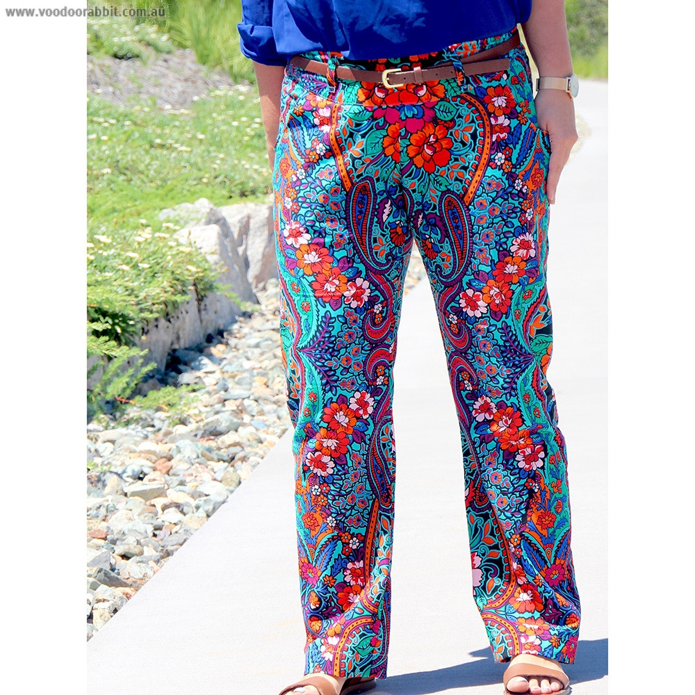 The Port City Pants Sewing Pattern By Sew To Grow Voodoo