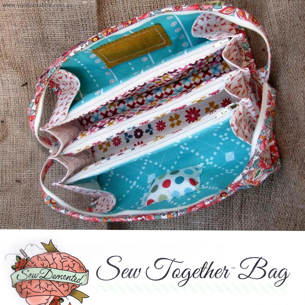 Sew Together Bag Sewing Pattern By Sew Demented Voodoo