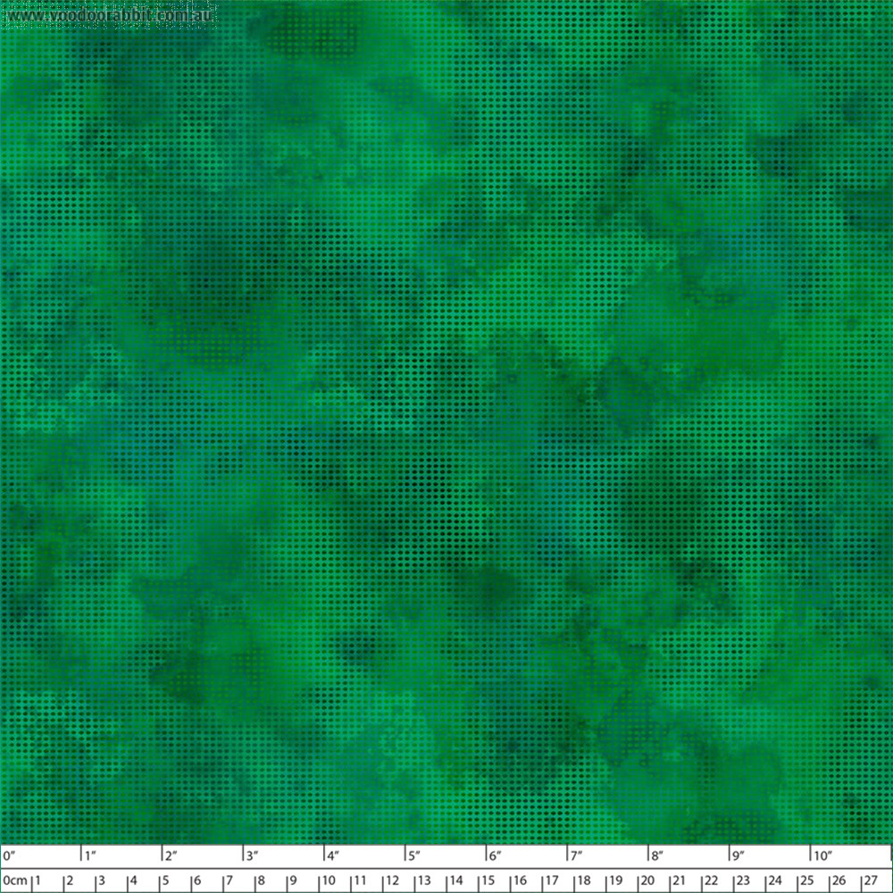 Dit Dot Evolution Emerald by In the Beginning Fabric