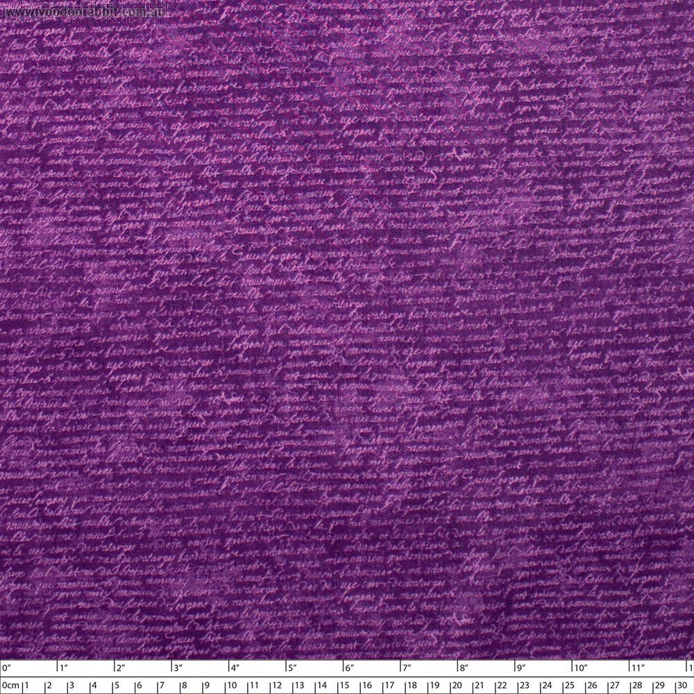 Wicked Script Purple by Northcott