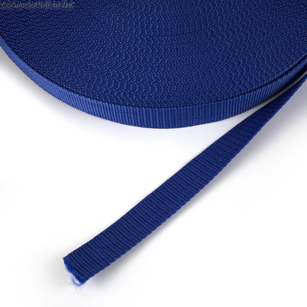"Polypropylene Webbing - 25mm (1"") Royal Blue"
