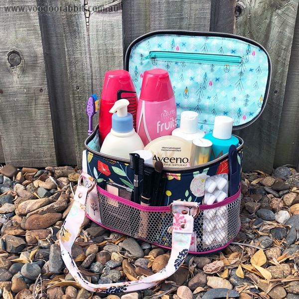 Bree\'s Box Toiletry Caddy Sewing Pattern by Andrie Designs ...