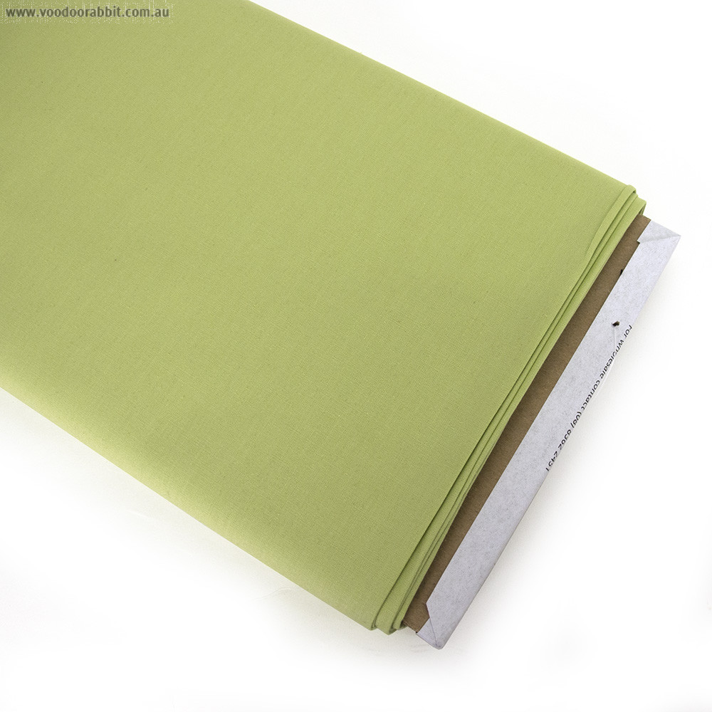 ColorWorks Premium Solid Lemongrass Green (743) by Northcott