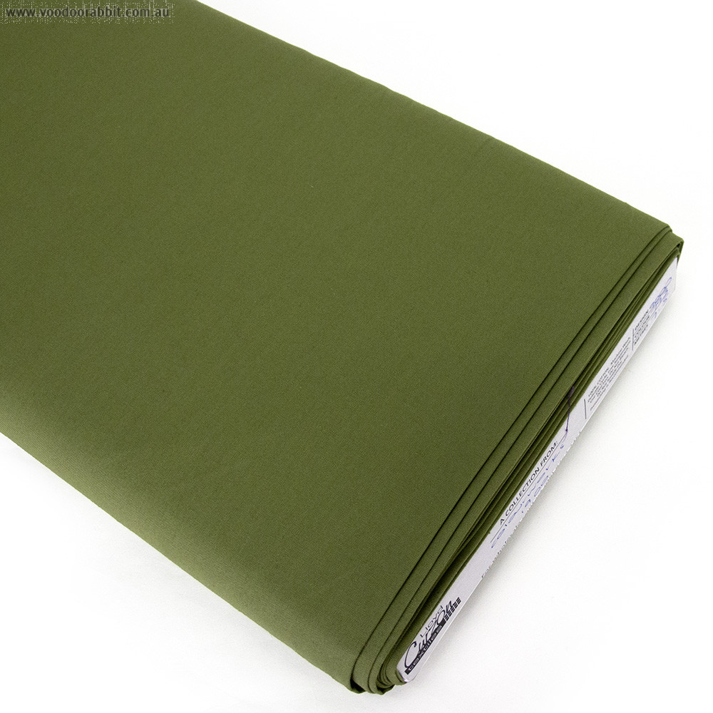 ColorWorks Premium Solid Asparagus Green (793) by Northcott