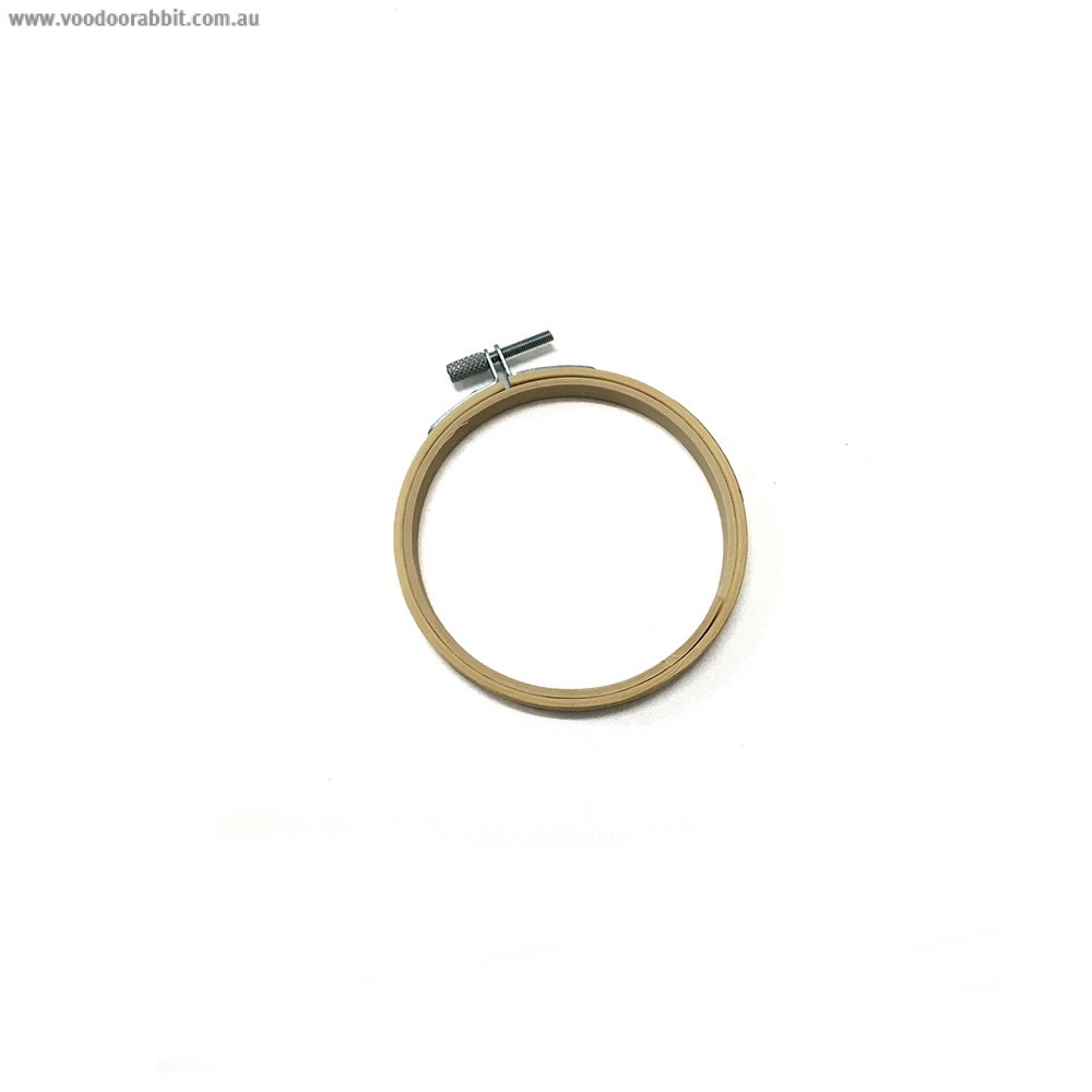 """Bamboo Embroidery Hoop 10cm (4"""")"""