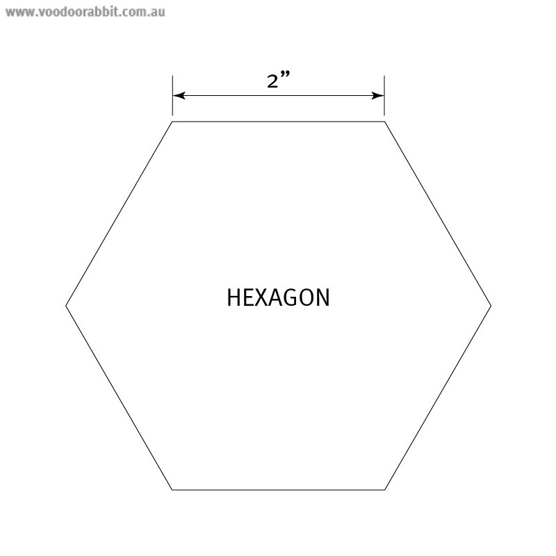 English Paper Piecing Pre Cut Papers Hexagon 2 Quot 50pk