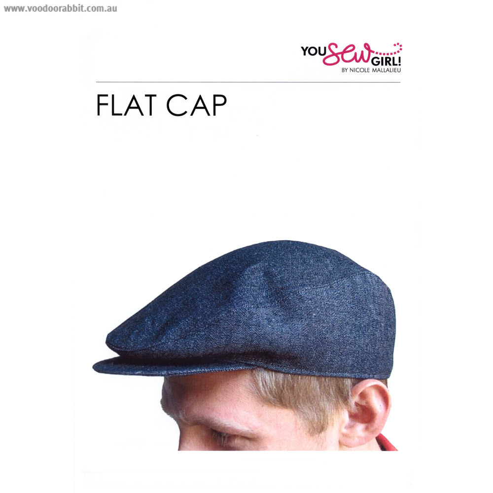 Flat Cap Pattern by You Sew Girl