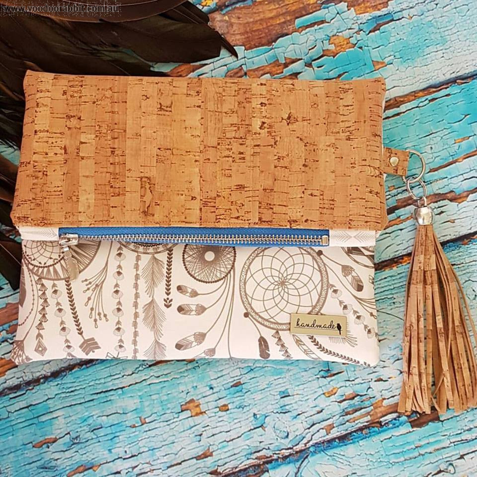 Fold Over Party Clutch Sewing Pattern by Little Moo Designs