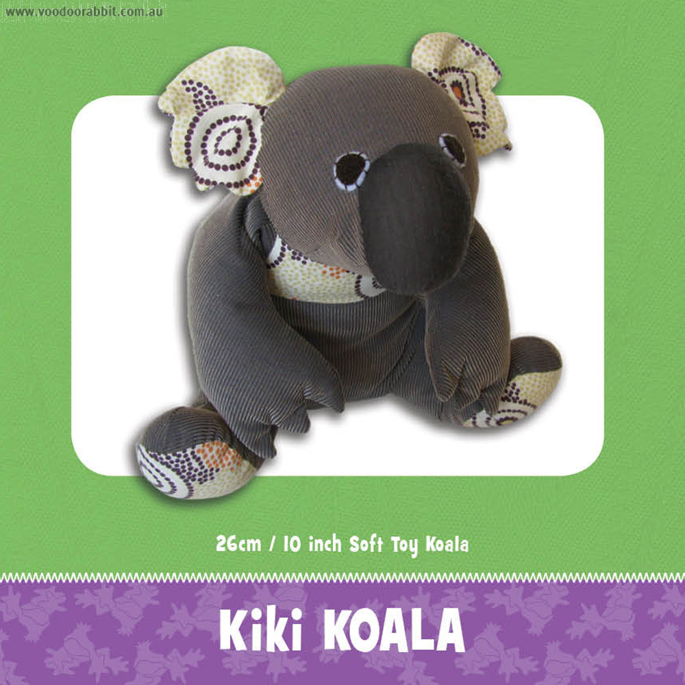 Kiki Koala Soft Toy Pattern by Funky Friends Factory