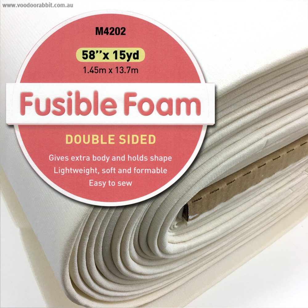 ecdfe3b22a8 Matilda's Own Double Sided Fusible Foam | Voodoo Rabbit Fabric and Bag  Hardware Australia