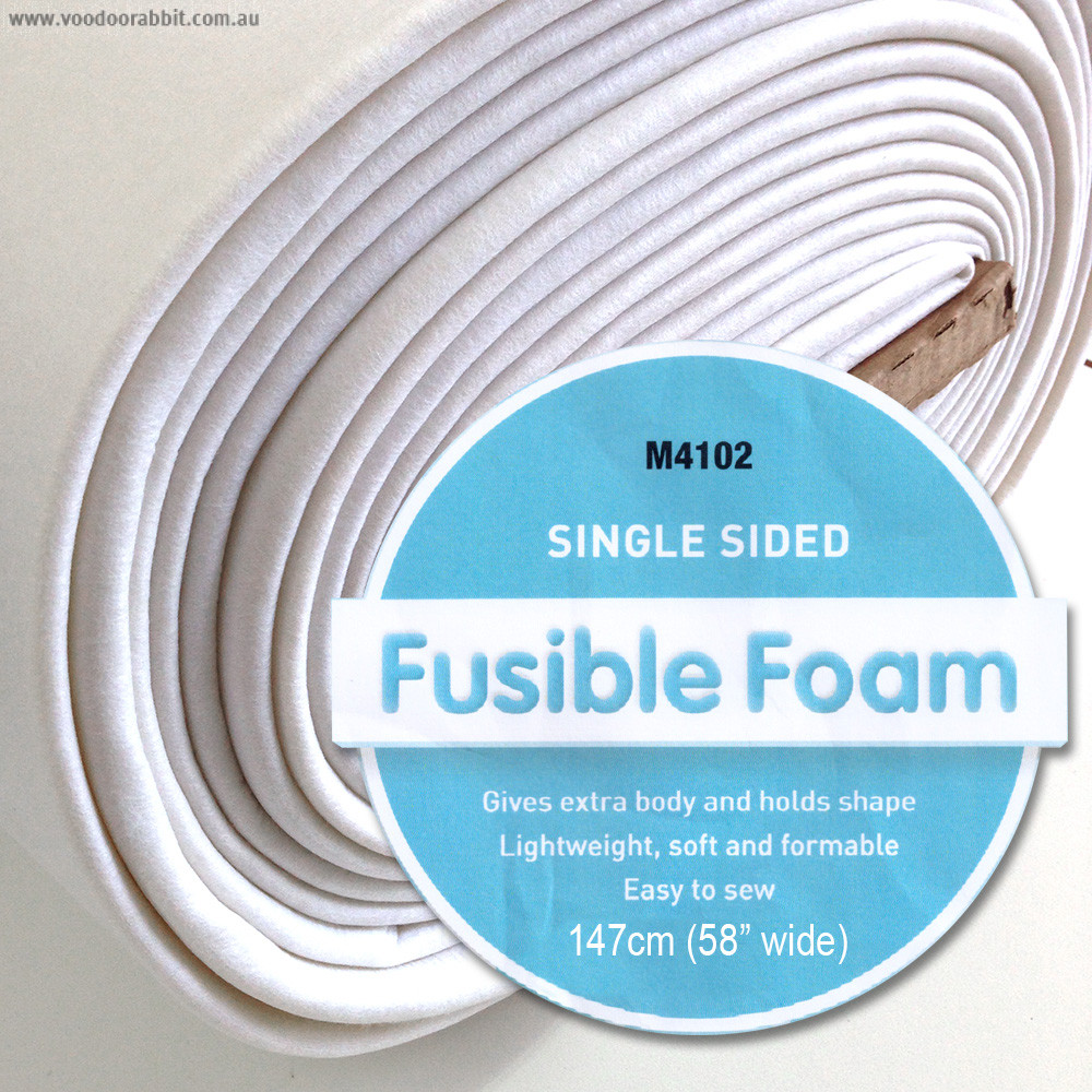 "Matilda's Own Single Sided Fusible Foam Stabiliser (Bosal In-R-Form) 58"" (147cm) wide"