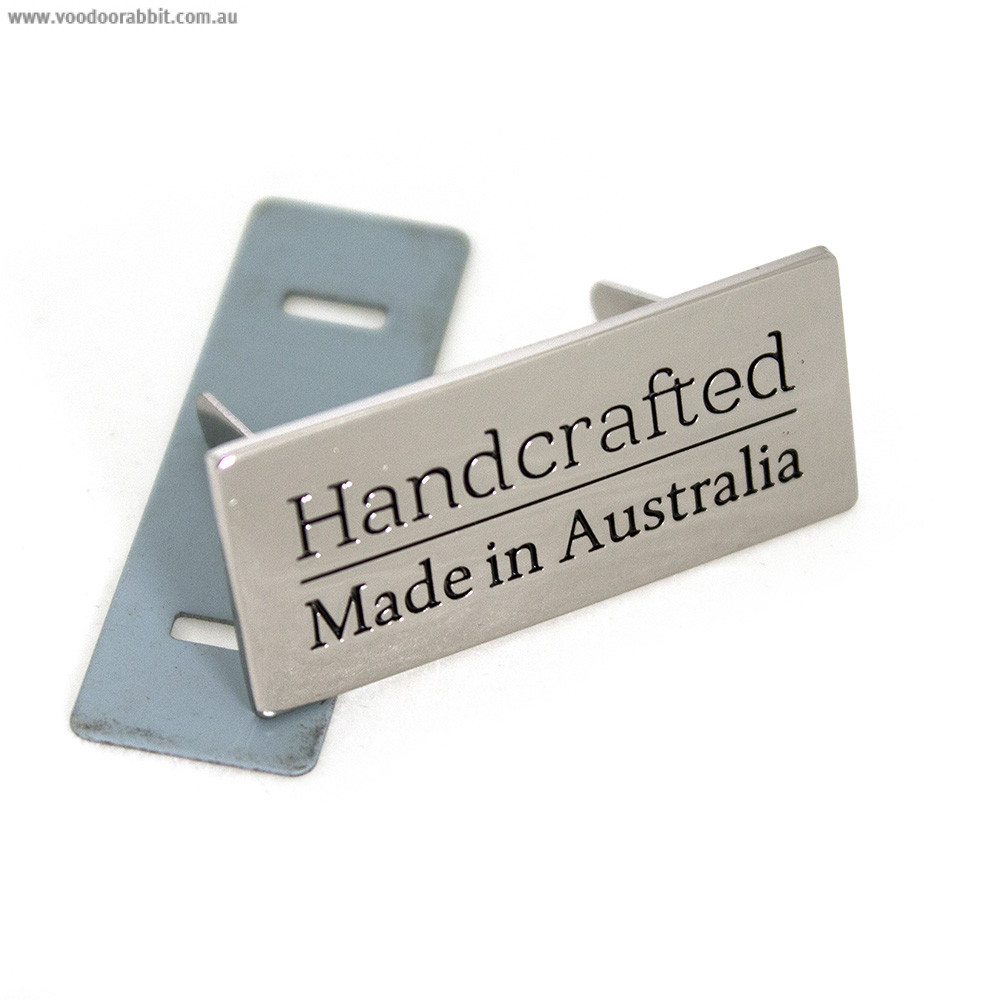 Emmaline Bags Metal Bag Label: Handcrafted - Made in Australia Silver