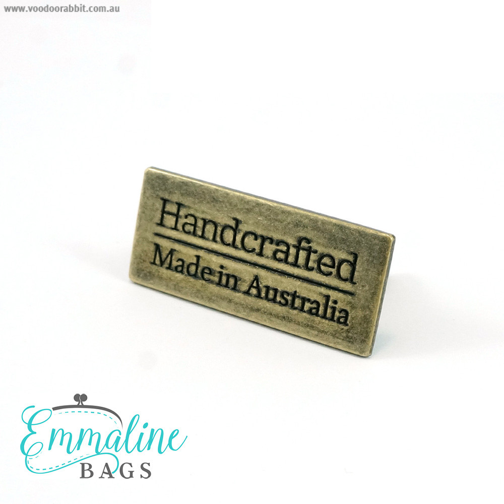 Emmaline Bags Metal Bag Label: Handcrafted - Made in Australia Antique Brass