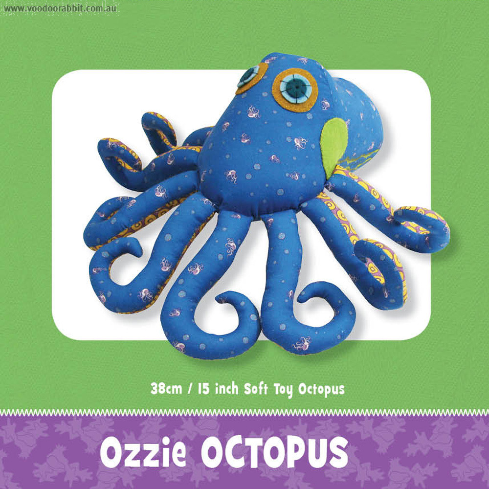 Ozzie Octopus Toy Pattern