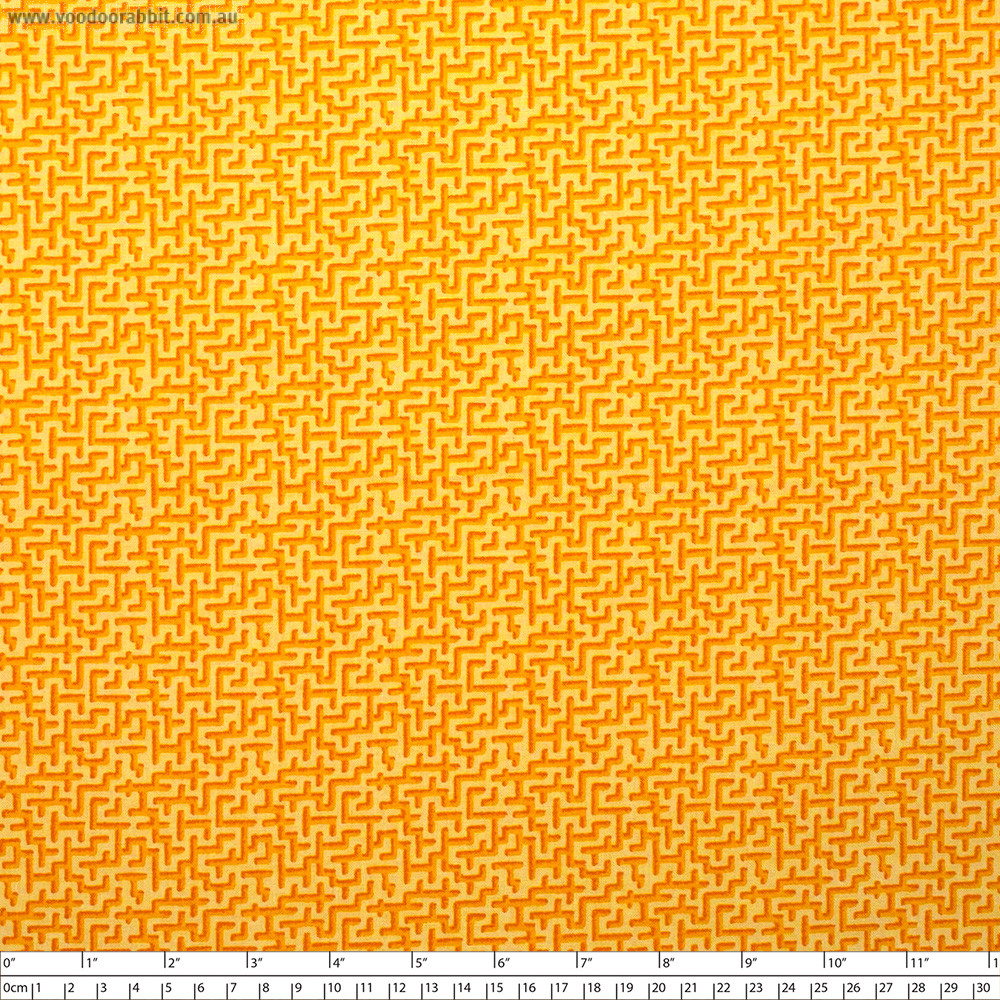 Jardin de la Reine Palace Maze Gold By Free Spirit Fabric