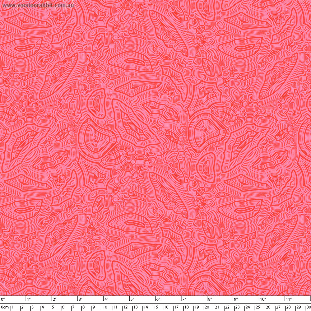 Tula Pink True Colors Mineral Agate Pink By Free Spirit Fabric