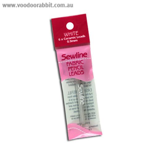 Sewline Fabric Pencil Ceramic Leads White