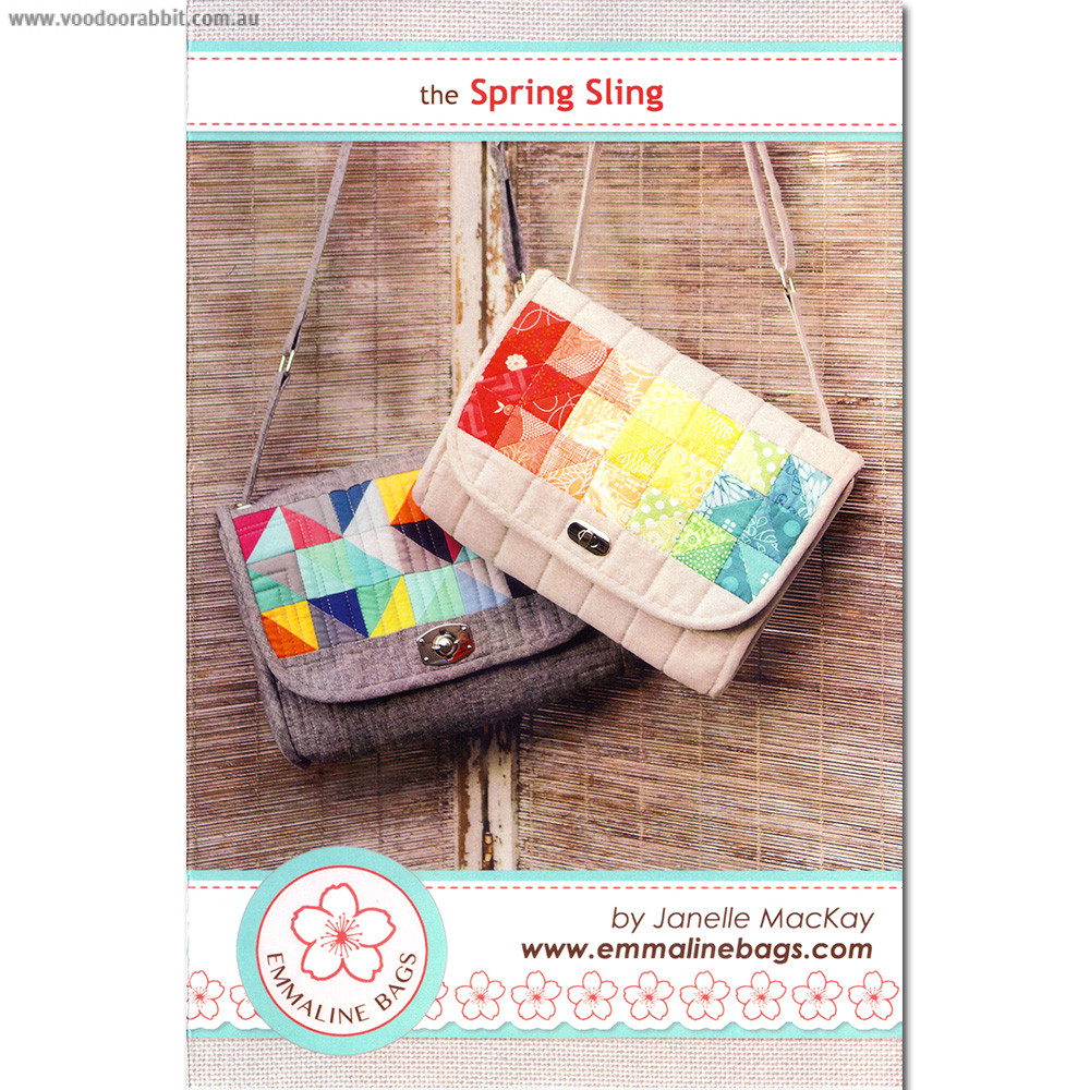 The Spring Sling Bag Sewing Pattern by Emmaline Bags