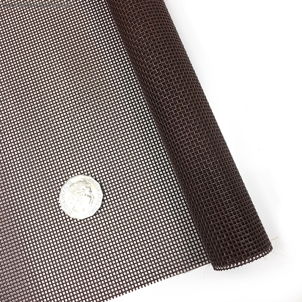 "Vinyl Bag Mesh 18"" x 36"" (46cm x 91.5cm) - Brown"
