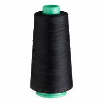 Birch Creative Overlocking Thread 2500m Black