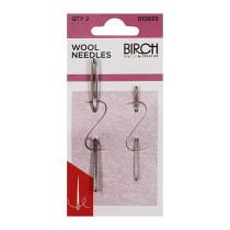 Birch Creative Wool Needles 2pk