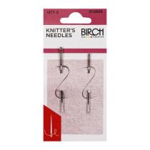 Birch Creative Knitter's Needles Fine Point 2pk