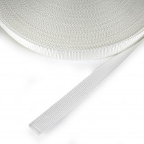 "Polypropylene Webbing - 25mm (1"") White"