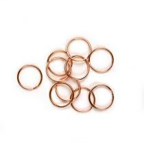 """Split Rings 25mm (1"""") / Copper 10pk"""
