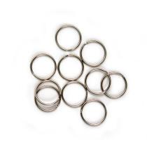 """Split Rings 25mm (1"""") / Silver 10pk"""