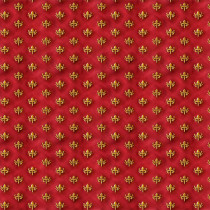 Literary Kitties Foulard Brick Red by Quilting Treasures