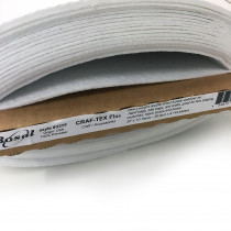 Bosal Craf-tex Plus Double-sided Fusible Ultra Firm Stabiliser (Equivalent to Peltex 72F)
