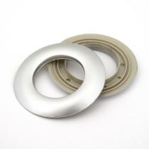48mm Matte Silver Grommet
