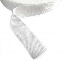 "Polypropylene Webbing - 50mm (2"") White"