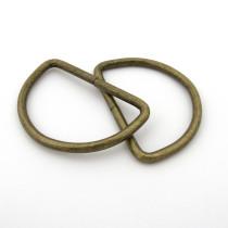 "D-Ring 50mm (2"") Antique - 4 pk"