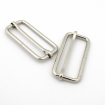 "Voodoo Bag Hardware Slide Adjusters 50mm (2"") Silver - 4pk"