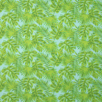 Isla Tropical Foliage Aqua by Windham Fabric