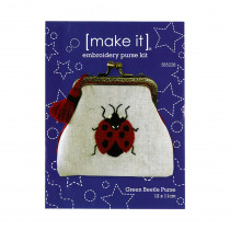 Make It Embroidery Purse Kit Ladybug