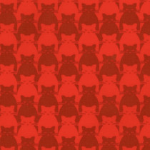 Kitty Kitty Tonal Cat Red by Blank Quilting