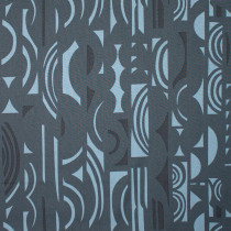 A Ghastlie Screen Blue/Grey by Alexander Henry Fabrics