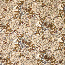 Unknown Voyage Roses Fawn by Blank Quilting