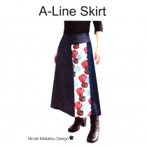 A-line Skirt Pattern Front