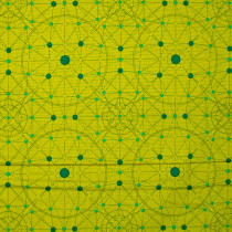 Declassified Schematic Peridot Green by Andover Fabric
