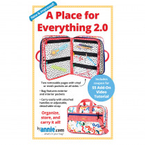A Place for Everything 2.0 Sewing Pattern byAnnie