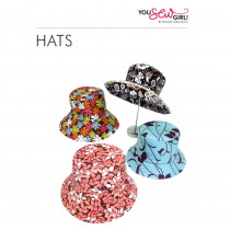 Adult Hats Pattern by You Sew Girl
