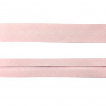 "12mm (1/2"") Single Fold 100% Cotton Bias Binding Baby Pink"