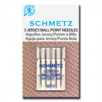 Schmetz Ball Point (Jersey) Sewing Machine Needle 80/12