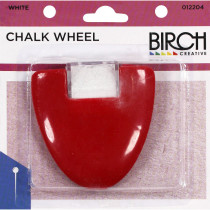 Birch Chalk Wheel White