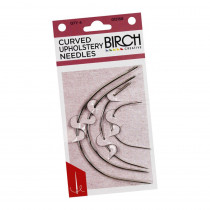 Birch Creative Curved Upholstery Needles 4pk