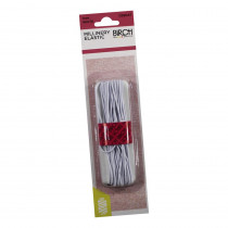 Birch Creative Millinery (Hat) 1mm Round Elastic White x 8m